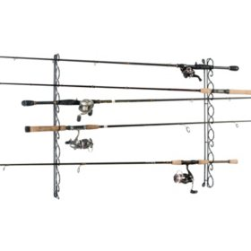 Wire Ceiling Fishing Rod Rack