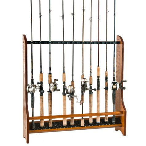 Fishing Rod Track Rack