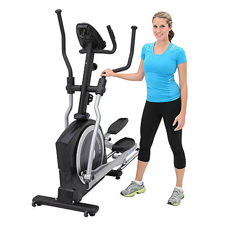 "Exerpeutic 770 Heavy Duty 21"" Pro Stride Magnetic Elliptical with Pulse"