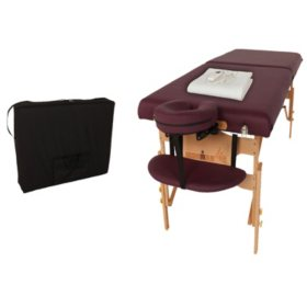 Ironman Ventura Massage Table with Heating Pad and Carry Bag