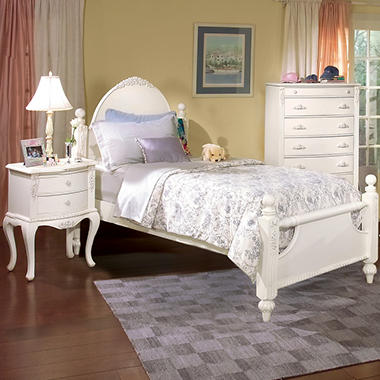 Holly Bedroom Set - Twin - 3 pc.
