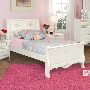 Rhyland Sleigh Bed - Twin