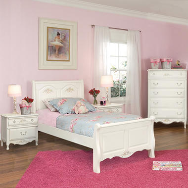 Rhyland Sleigh Bedroom Set - Twin - 3pc