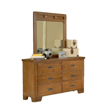 Pace Dresser and Mirror
