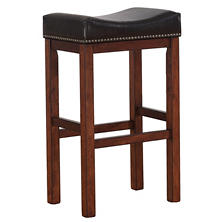 Travis Saddle Seat Counter Stool
