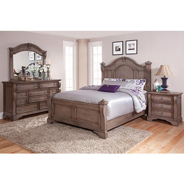 Caroline Bedroom Furniture Set (Assorted Sizes)