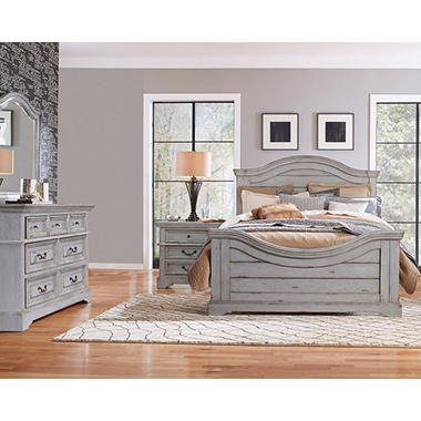 Delicieux Highland Creek Bedroom Furniture Set, Weathered Gray (Assorted Sizes)