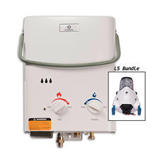 Eccotemp L5 Portable Outdoor Tankless Water Heater and Flojet Pump
