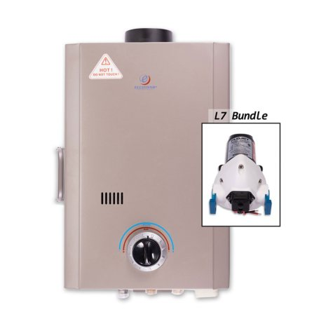Eccotemp L7 Portable Outdoor Tankless Water Heater with Flojet Pump