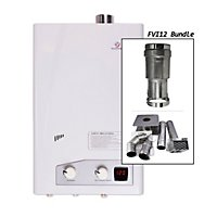 Eccotemp Fvi12 3 5 Gpm Indoor Natural Gas Tankless Water Heater Horizontal Bundle
