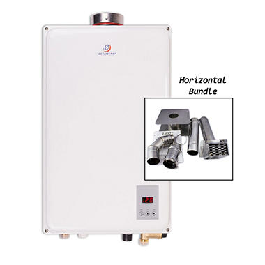 Eccotemp 45HI-NG Indoor Natural Gas Tankless Water Heater with Horizontal Vent Kit