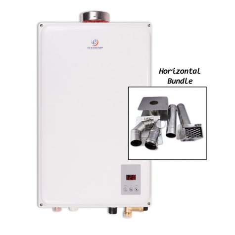 Eccotemp 45HI 6.8 GPM Indoor Natural Gas Tankless Water Heater with Horizontal Vent Kit
