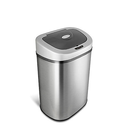 Nine Stars Sensor Trash Can, Stainless Steel (21.1 gal)