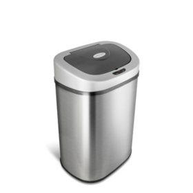 nine-stars-sensor-trash-can,-stainless-steel-(211-gal) by nine-stars