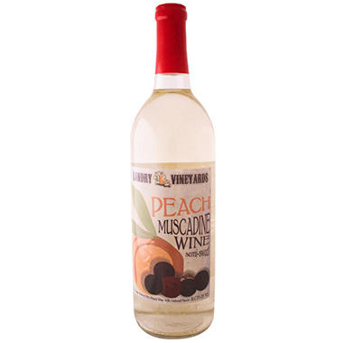 Landry Vineyards Peach Muscadine (750 ml)