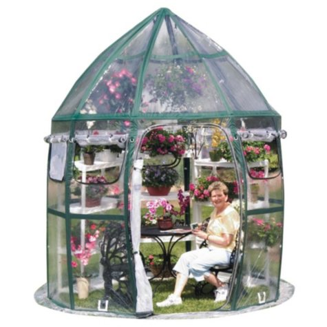 FlowerHouse 8' x 8' Conservatory Pop-Up Portable Greenhouse