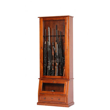 12 Gun Slanted Base Cabinet
