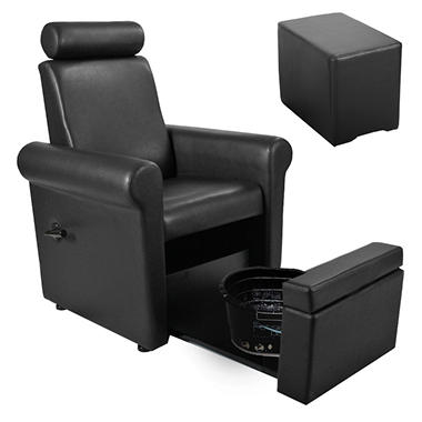 Keller Independence Pedicure Spa Chair and Stool