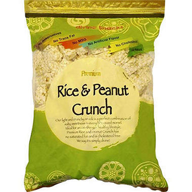 Rice & Peanut Crunch - 17.63oz