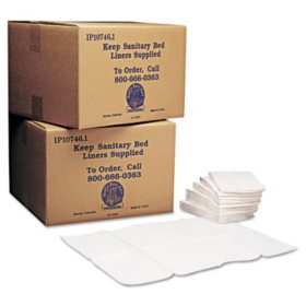 Koala Kare - Baby Changing Station Sanitary Bed Liners, White -  500/Carton