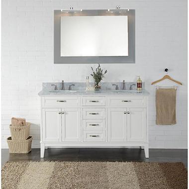 Member S Mark Double Sink Vanity