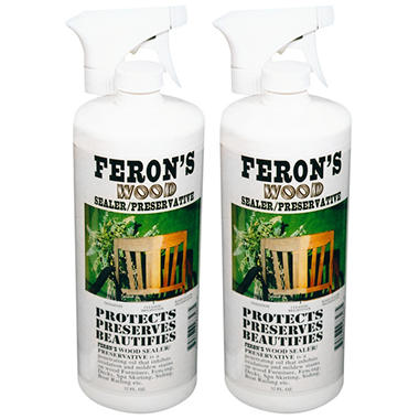 Feron's Wood Sealer/Preservative - 2 quarts