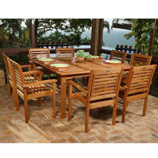 Best Seller Lido Outdoor/Indoor Square Table Set   9 Pc. Part 76
