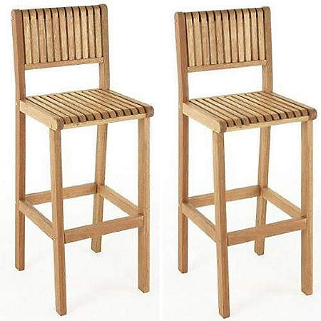 Brazil Outdoor Bar Stools (2 pack)