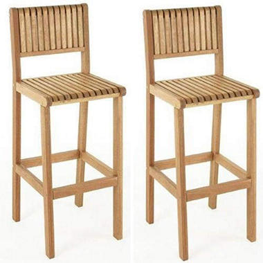 Brazil Outdoor Bar Stools 2 Pk