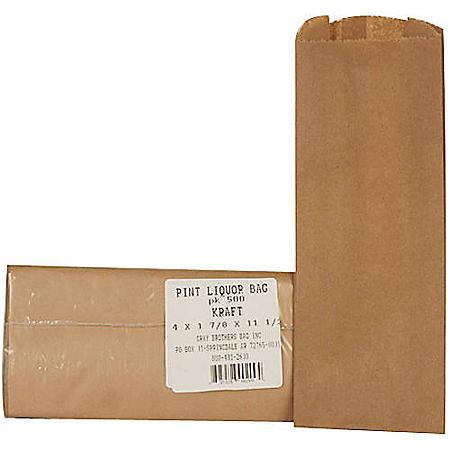 Pint Liquor Bags (500ct.)