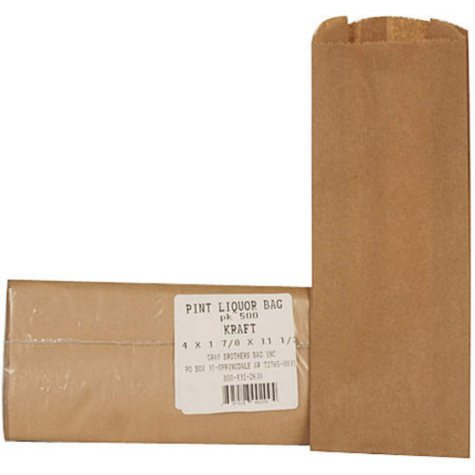 Pint Liquor Bags (500ct.)