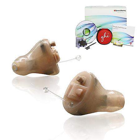 GHI Simply Soft™ Premier Digital Hearing Aid Pair