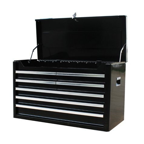 "Excel Black Steel Tool Chest 36"" W x 16"" D x 21.9"" H"