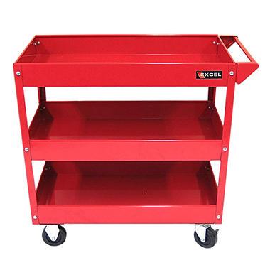 excel steel tool cart multiple colors