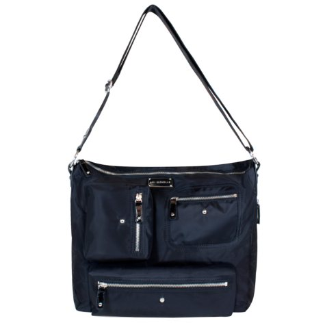 Amy Michelle Iris Diaper Bag, Black