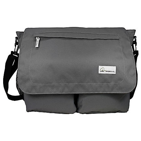 Amy Michelle Seattle Diaper Bag, Charcoal