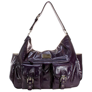 Amy Michelle Sweet Pea Diaper Bag, Plum