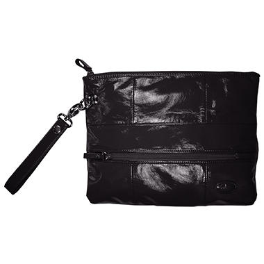 Amy Michelle Poppy Clutch, Black