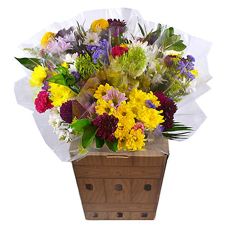 Prewrapped Mixed Bouquets with Display Box (15 bouquets)