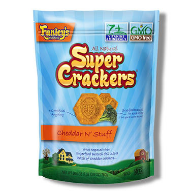 Funley's Delicious All Natural Super Crackers (26.8 oz.)