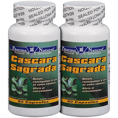 Pharma Natural Cascara Sagrada - 60 ct. - 2 pk.