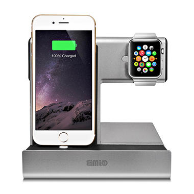 Emio Apple Watch and iPhone Charge Dock