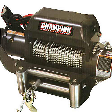 10,000 lb. Winch with Speed Mount Hitch Adapter
