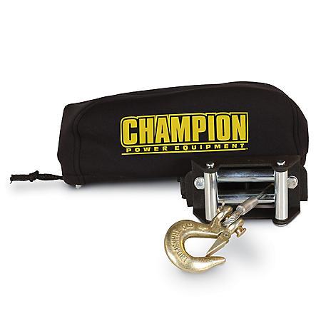 Champion Power Equipment Neoprene Winch Cover Fits 2,000lb - 3,000lb.