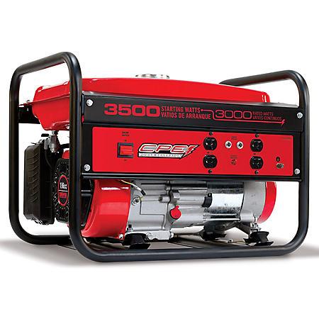 Champion 3,000 / 3,500 Watt Gasoline Powered Generator