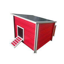 ecoFLEX Jumbo Fontana Chicken Barn, Red