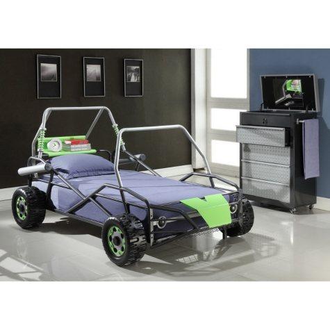 Go-Go Cart Dune Buggy Twin Bed - Green