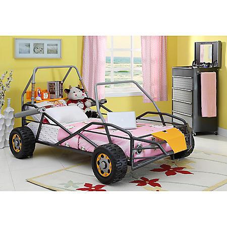 Go-Go Cart Dune Buggy Twin Bed - Orange