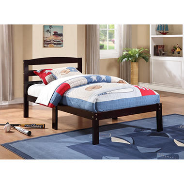 Northwich Espresso Twin Slat Bed