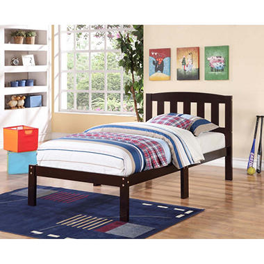 derwent twin bed with slatted headboard - sam's club